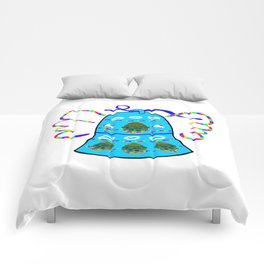 Winged Bell Comforters
