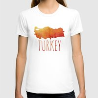 turkey T-shirts featuring Turkey by Stephanie Wittenburg