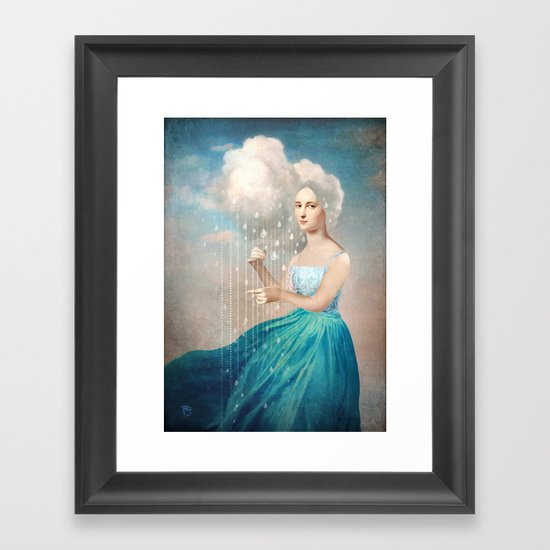 Melody of Rain Framed Art Print