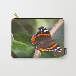 Admiral On The Apple Tree Branch #decor #society6 Carry-All Pouch