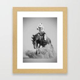 Rodeo Lifestyle Framed Art Print