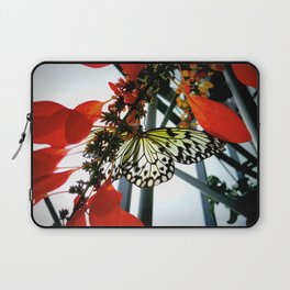 Rice Paper Butterfly Laptop Sleeve
