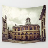 theater Wall Tapestries featuring Oxford: Sheldonian Theater by Solar Designs