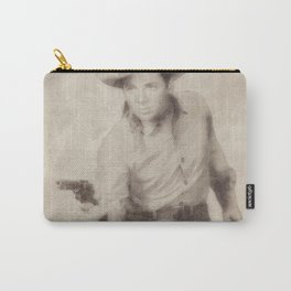 Audie Murphy, Actor and War Hero Carry-All Pouch