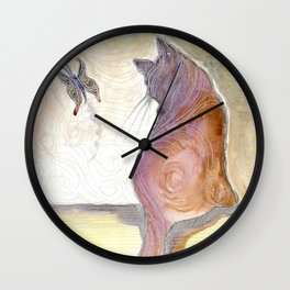 Teasing  Flutter Wall Clock