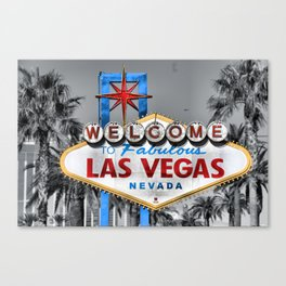 Welcome to Fabulous Las Vegas Canvas Print