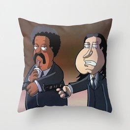 Brett's last mistake Throw Pillow