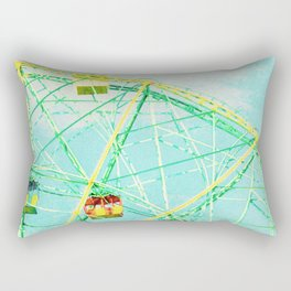 Wonder Wheel Rectangular Pillow