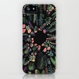 focus flowers iPhone Case