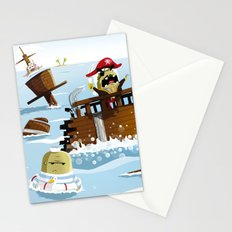Pirates Stationery Cards