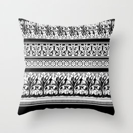 Keep Fretting Throw Pillow