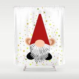 Santa - Gnome Shower Curtain