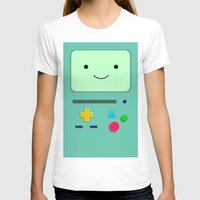 bmo T-shirts featuring BMO by skyetaylorrr