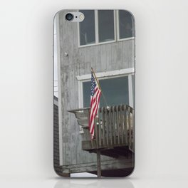 Porch Flag iPhone Skin