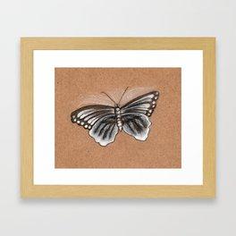 Butterfly drawing Framed Art Print