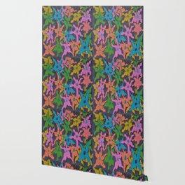 Midnight Bouquet Wallpaper