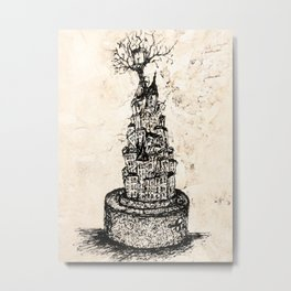 tree-house Metal Print