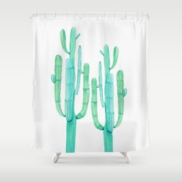 Dos Amigos Shower Curtain