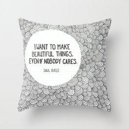 Beautiful Things Throw Pillow