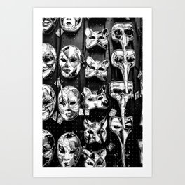 Carnevale Art Print