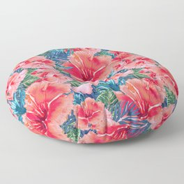 My Tropical Garden 12 Floor Pillow