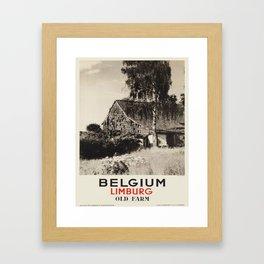 Vintage poster - Limburg Framed Art Print