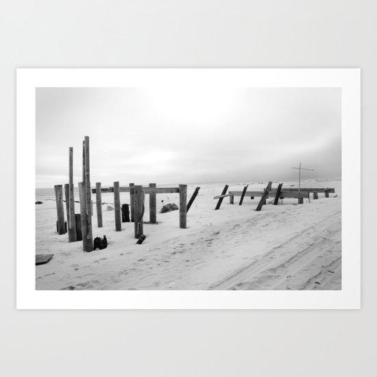 Sandy #2 Art Print
