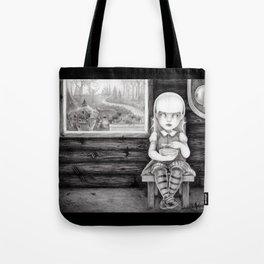 """The Porridge Thief"" (Goldilocks) Tote Bag"
