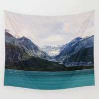 alaska Wall Tapestries featuring Alaska Wilderness by Leah Flores