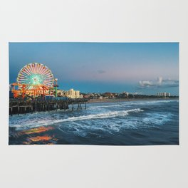 Wheel of Fortune - Santa Monica, California Rug
