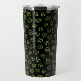 Hopcone Pattern Travel Mug