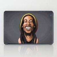 marley iPad Cases featuring Celebrity Sunday - Robert Nesta Marley by rob art | illustration
