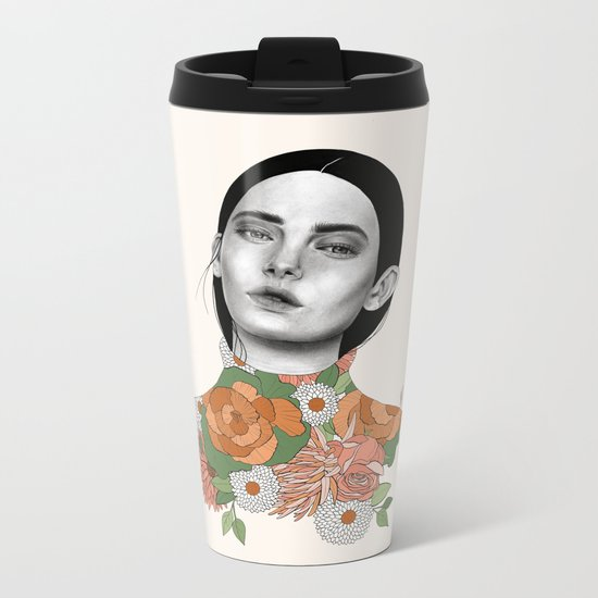 You Can Find Me In Spring Metal Travel Mug
