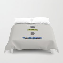 MST3K Riding with Death Duvet Cover
