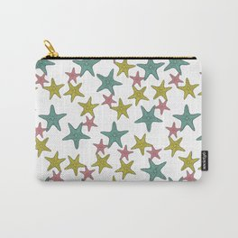 starfish tropical print Carry-All Pouch