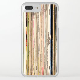 Long Player Clear iPhone Case