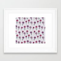 peonies Framed Art Prints featuring Peonies by Abby Galloway