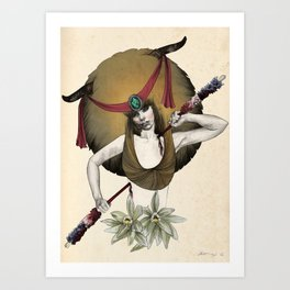 Taurus - Colour version Art Print