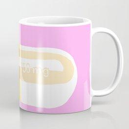 Happy Pill Pink Coffee Mug