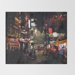 Calle x GV Throw Blanket