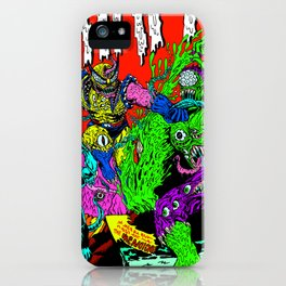 MONSTER FIGHT iPhone Case