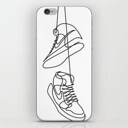 Sneakers art,Casual Shoes,Hipster Prints,Printable Wall Art,Large Poster Decor,shoe art , iPhone Skin