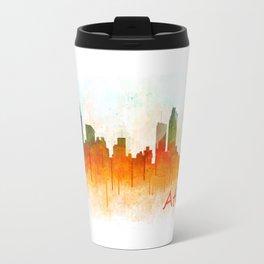 Atlanta City Skyline Hq v3 Travel Mug