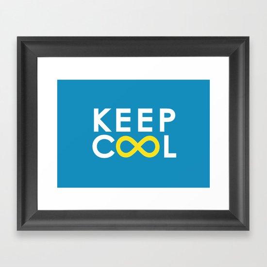 Forever coolness Framed Art Print