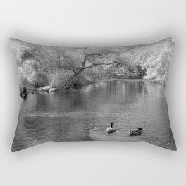 On The Lake Rectangular Pillow