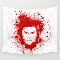 dexter Wall Tapestries featuring Dexter by David