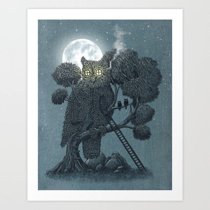 Nightwatch Art Print