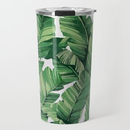 Tropical banana leaves VI Travel Mug