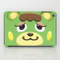 animal crossing iPad Cases featuring Animal Crossing Charlise by ZiggyPasta