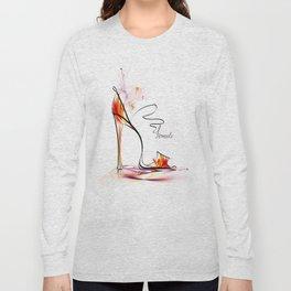 high heel Long Sleeve T-shirt